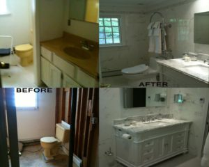Before & After Basement Renovation