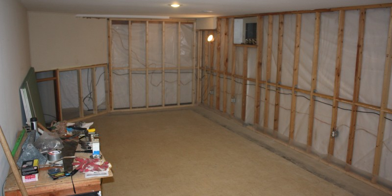 Basement Finish Systems Vs. Drywall Finish   Basement Finish Pro
