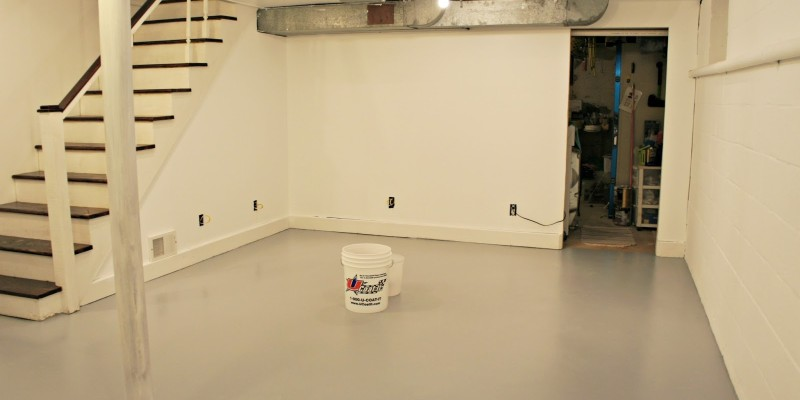 Light Paint Colors in a Dark Basement - Basement Finish Pro